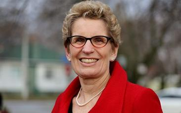 Ontario Premier Kathleen Wynne sends her support for launch of ProudPolitics