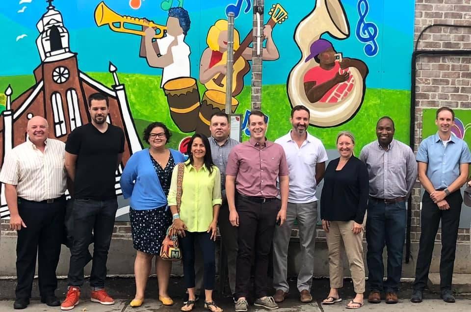 New Mural at Montreal / Granville