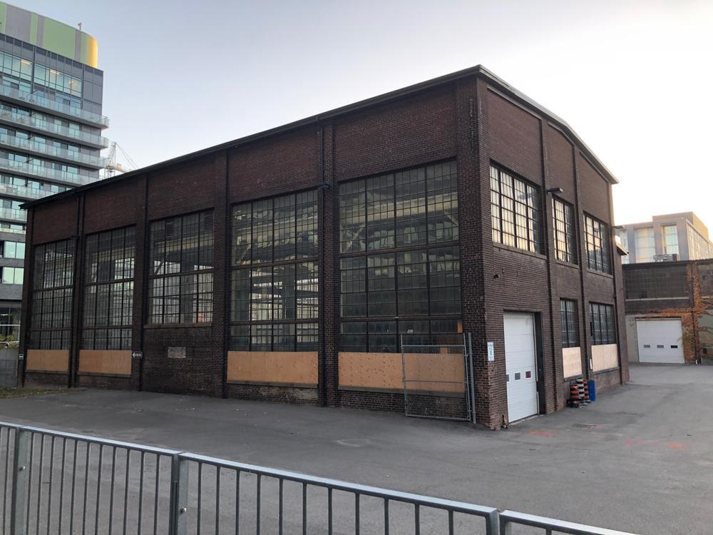 Machine shop, Dominion Wheel & Foundries site, northeast corner
