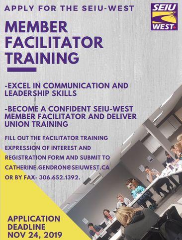 Apply to Become a SEIU-West Facilitator!