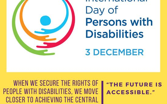 The Future is Accessible: International Day of Persons with Disabilities 2019