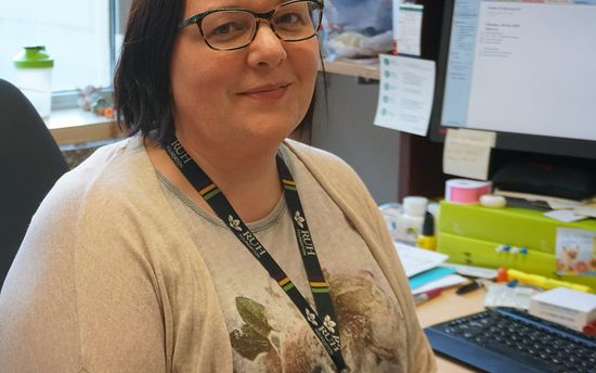 Health Information Professionals Week Profile -  Aimee