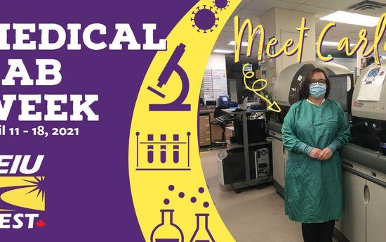 Medical Laboratory Week 2021: Carla