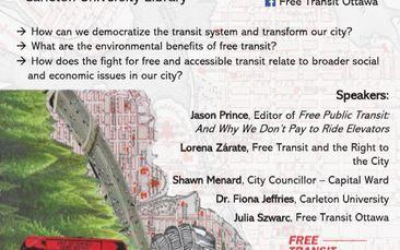 Public Panel on Free Transit