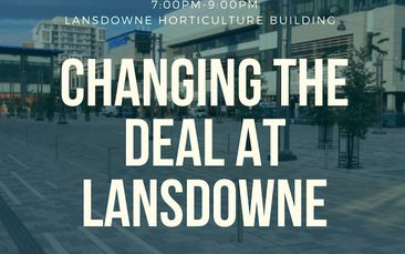 Upcoming Meetings about the Future of Lansdowne Park (Updated Location) and the 2020 Budget
