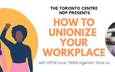 Webinar: How to Unionize Your Workplace