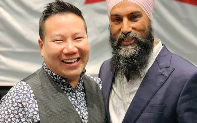 Congratulations to Brian Chang, our 2020 Candidate