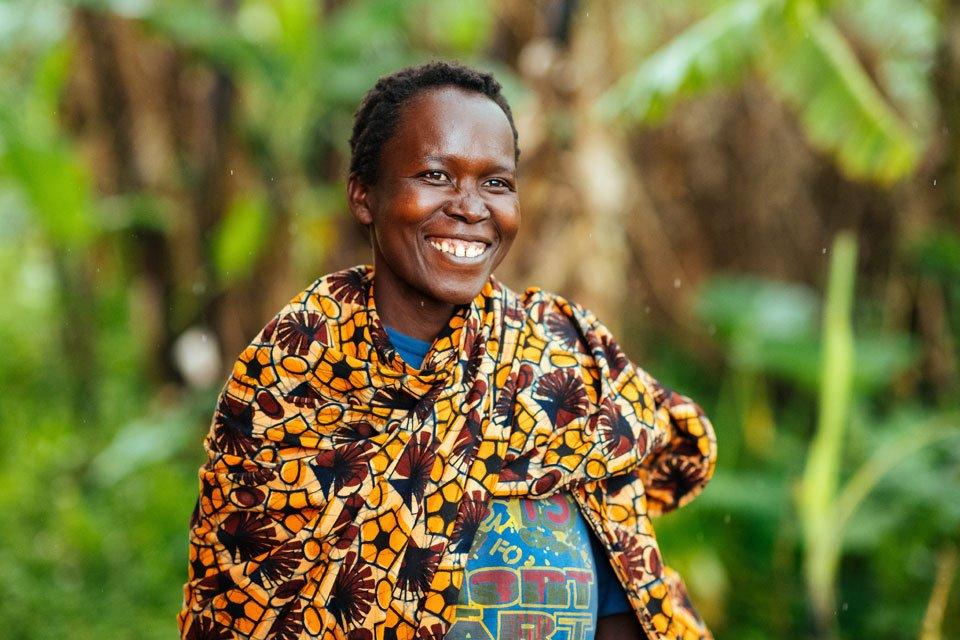 Portrait photo of Violette from Burundi