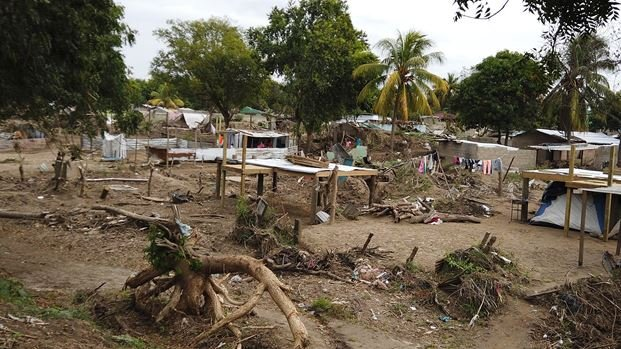 Darwin and his church were able to respond to help their community recover and rebuild   Credit:Rosa Amelia Nuñez/Tearfund