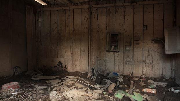 Homes were completely destroyed by Hurricane Eta and Hurricane Iota.