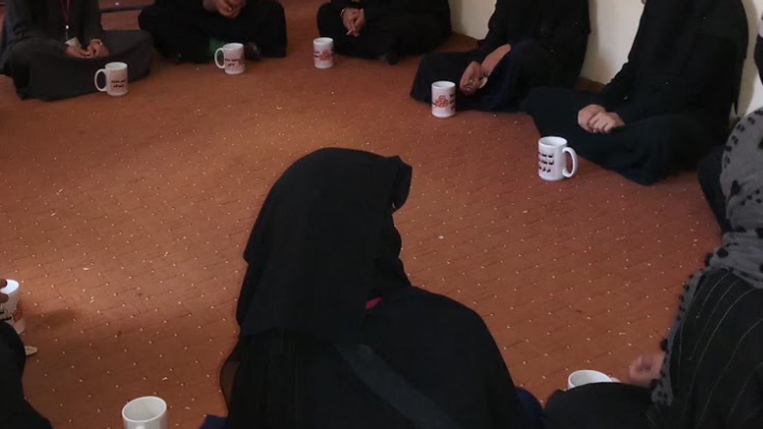Overcoming depression in a conflict zone
