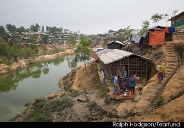TEARFUND STEPS UP RESPONSE AS MONSOON RAINS ADD MISERY IN ROHINGYA CAMPS