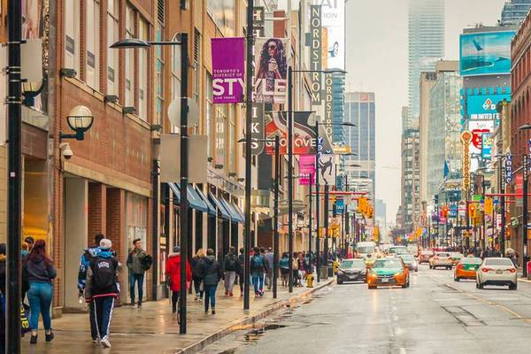 This is what a carless downtown Yonge Street could one day look like