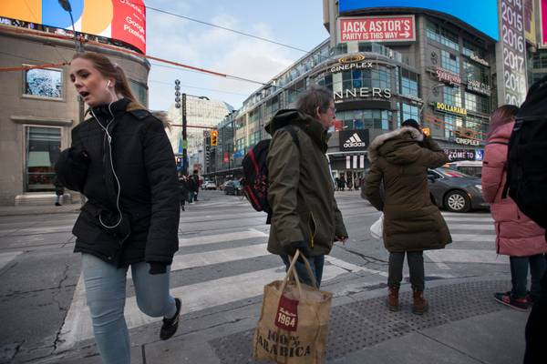 No, Toronto's problem isn't 'too many' people going outside. It's too little public space